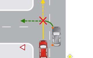 Дтп при повороте налево — кто виноват в данном случае?