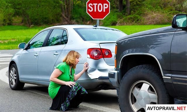 Я врезался в машину, что делать и какая ответственность?