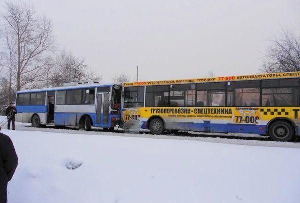 ДТП с участием общественного транспорта в РФ