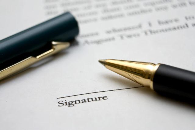 Образец доверенности на право подписи договоров за директора