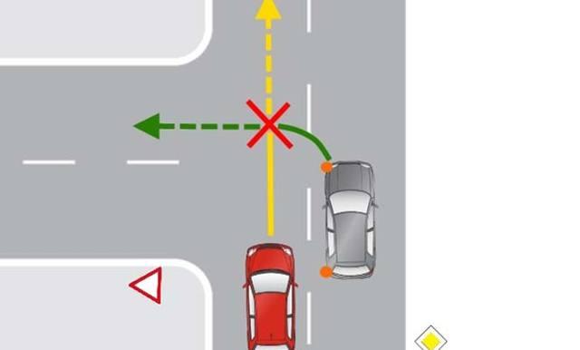 ДТП при повороте налево - кто виноват в данном случае?