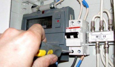 Самовольное подключение электроэнергии после отключения