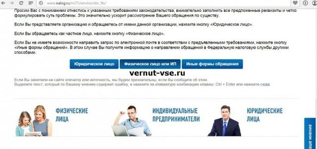 Образец жалобы в ФНС России и способы ее подачи в инспекцию