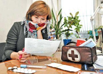 Образец заявление на продление отпуска в связи с больничным