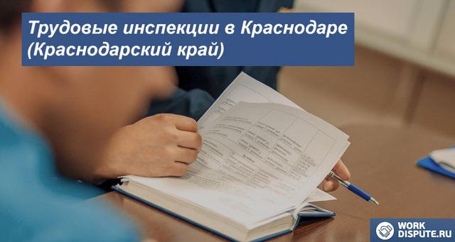 Трудовая инспекция Краснодара - горячая линия для граждан