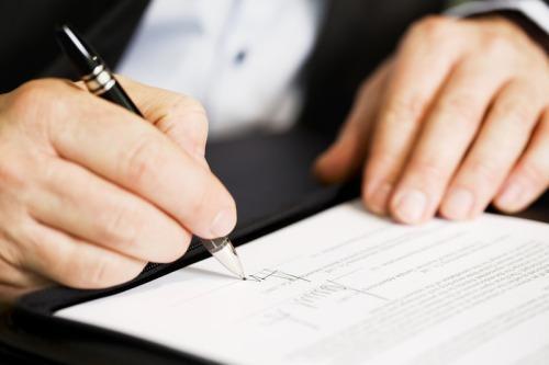 Доверенность в банк на представление интересов юридического лица