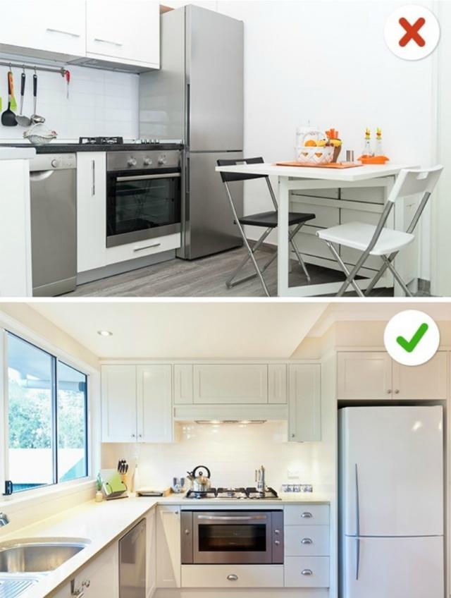 Что делать, если кухонный гарнитур не влазит?
