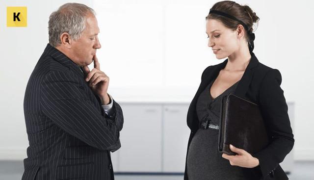 Увольнение по собственному желанию беременной женщины