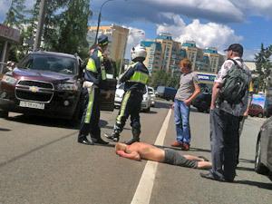 Сбил человека вне пешеходного перехода: ответственность