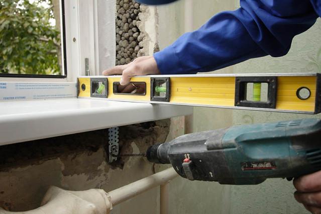 Некачественная установка пластиковых окон подрядчиком